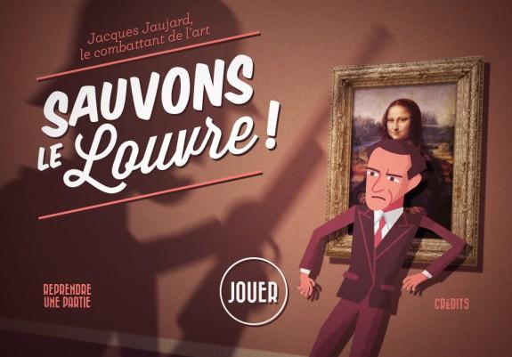Votez pour le jeu «Sauvons le Louvre !»